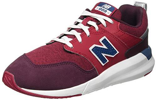 New Balance Jungen 009 YS009CB1 Medium Sneaker, Red (Neo Crimson CB1), 28