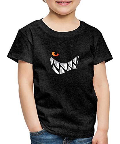 Die Wilden Kerle Grinsen Kinder Premium T-Shirt, 122-128, Anthrazit