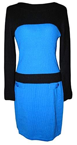 Passport Damen Kleid Blau (38)