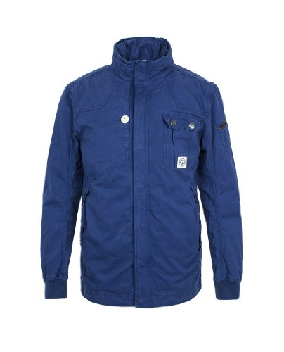 DAC110147 Duck and Cover Gendry Windsor Veste délavée Taille M - Bleu - Medium