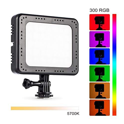 TARION TL-10 Camera LED Panel Light RGB 5700K RA96 300 Colors On-Camera Video Light DSLR
