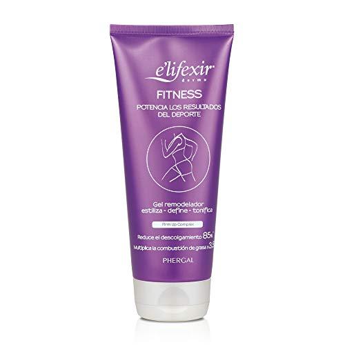 Elifexir Fitness - Crema Tonificante Rápida Absorción | Reductor Estrias | Quemagrasas Potente | Anti Descolgamiento 200ml