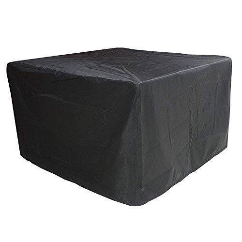 Huolirong Funda Protectora para Muebles Impermeable Cubierta Protectora Tela De Oxford Funda De Mesa Y Sillas for Patio Muebles De Jardín Funda (Color : Black, Size : 250×250×90CM)