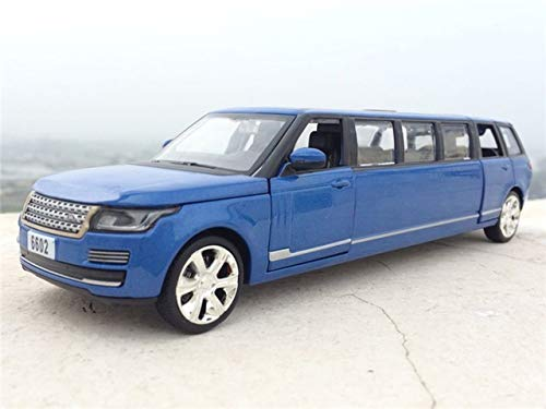 1:32 DIECAST CAR Model Toys Stretch Limousine with Pull Back Sound Light for Kids Toys (Color : E)