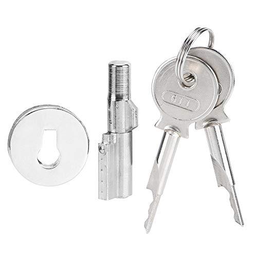 OKBY Glass Door Cabinet Lock - Vitrine Display Counter für Glas mit Einer Dicke von 4-6 mm