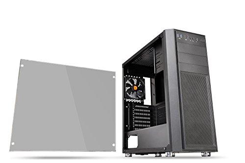 Thermaltake Versa H26 TG ミドルタワー型PCケース [強化ガラスモデル] CS7278 CA-1J5-00M1WN-00