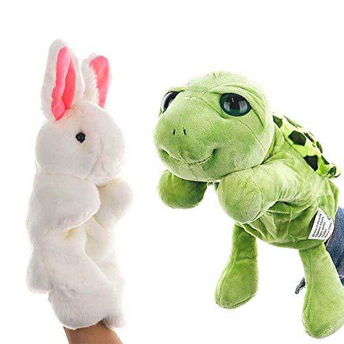 EQLEF Títeres de Mano para niños y Adultos, Lindos muñecos de Mano, Animales,...