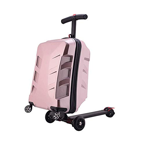 Optional Luggage Creative Boarding Case 20 Inch Scooter Trolley Case Four Color Ultra lightweight ABS hard shell luggage