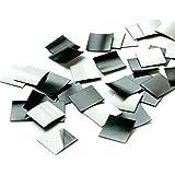 100er Set Magnet-Plättchen selbstklebend I Größe 2x2 cm