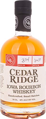 Cedar Ridge Iowa Bourbon Whiskey - 700 ml