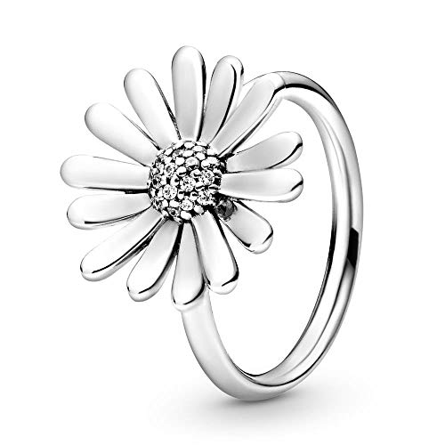 Pandora Daisy Sterling Silver Ring wit Size 56