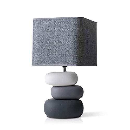 YM963 La Tabla Creativa de la lámpara de cerámica de los países nórdicos romántico lámpara de Mesa Simple Dormitorio lámpara de cabecera Energía Moderna lámpara de cabecera Guardar