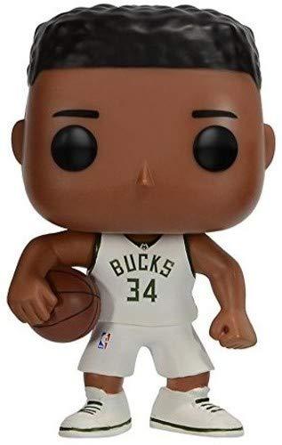 Funko- Pop Vinile: NBA: Giannis Antetokounmpo, Multicolore, 9 cm, 21801