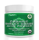 Organic Barley Grass Juice Powder - Grown in Volcanic Soil of Utah - Raw &...