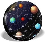 MODORSAN Cosmic Planet - Cubierta de neumático de Repuesto,poliéster,Universal,de 14 Pulgadas,para Rueda de Repuesto,para Remolque,RV,SUV,camión,camión,camioneta,Viaje,Remolque,Accesorios