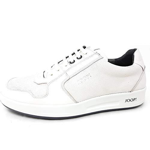 Joop! Herren Argos LFU 1 Sneaker, Weiß (White 100), 46 EU