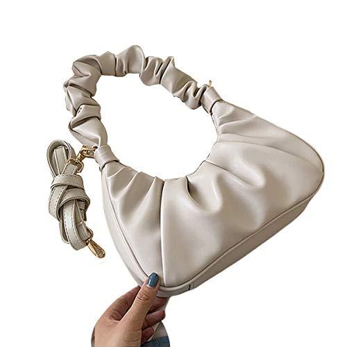 Handtasche mit gerafftem Design