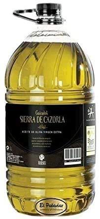 GARRAFA ACEITE VIRGEN EXTRA pet 5L PICUAL SIERRA CAZORLA
