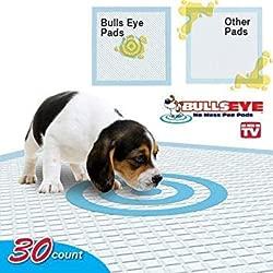 Good Bullseye Dog Pee Pads 30 Count 22x22 (2 Pack)