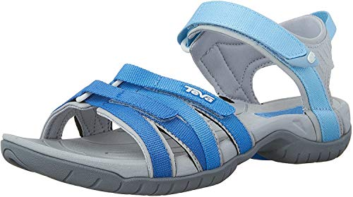 Teva W Tirra, Damen Sport- & Outdoor Sandalen, Cool Blue Gradient, 38 EU (5 UK)