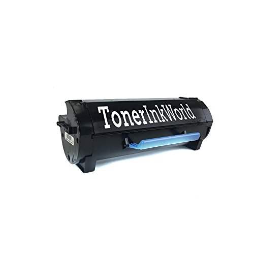 TIW Lexmark 501U Replacement Black Toner Cartridge for Lexmark MS510, MS510dn, MS610 Printers High Yield 20,000 Pages, Cartridge 50F1U00, 501U  Perfect For Home and Commercial use