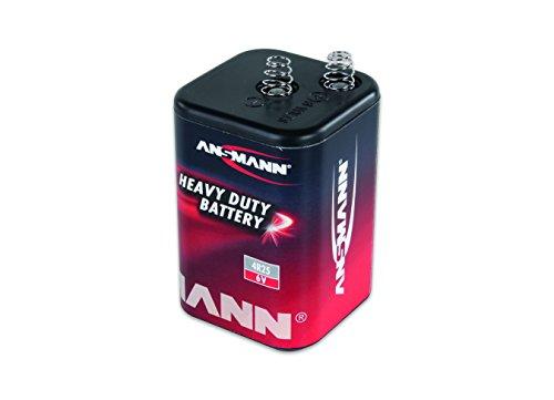 ANSMANN zink-kolen platte batterij 6 V - 4R25