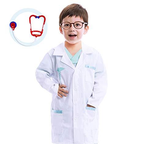 Spooktacular Creations Disfraces de Doctor para Niño Cosplay (XS)
