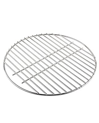 """KAMaster Stainless Steel Cooking Grid Grates for Medium Big Green Egg Accessories Round Wire Grill Grate Replacement for Smokey Joe and BGE (15""""-for Medium Eggs)"""