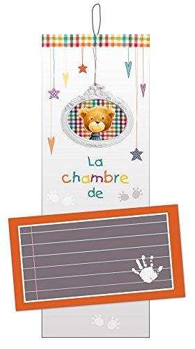 Titoutam T1128 Plaque de Porte Personnalisable Charlie Blanc