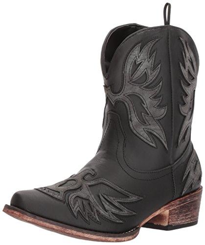 Roper Women's Amelia Western Boot, Black, 8