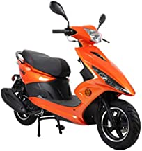 X-PRO Bali Moped Scooter Street Scooter Gas Moped 150cc Adult Scooter Bike with 10