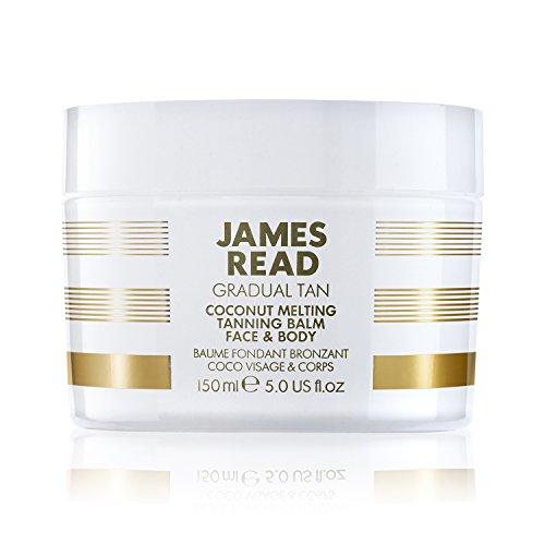 James Read Gradual Tan Coconut Melting creme autobronzeador para corpo e rosto com óleo de coco 150 ml