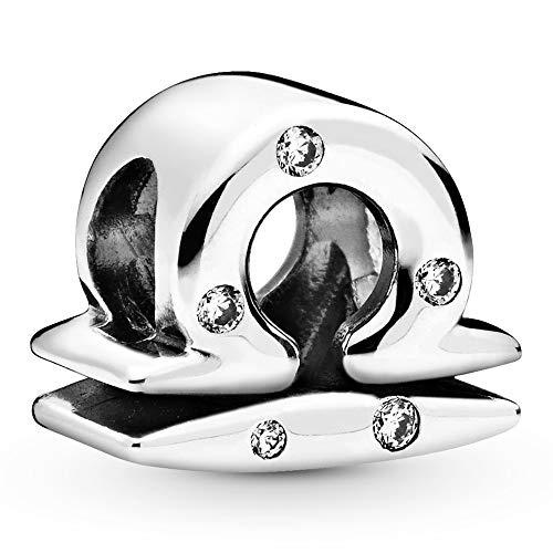 Pandora Jewelry Sparkling Libra Zodiac Cubic Zirconia Charm in Sterling...