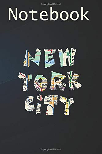 Journal Notebook, Composition Notebook: Funny New York City Subway Map s 6'' x 9'', 100 College Ruled Pages, Soft Cover; perfect for creative writing, noting, and more!
