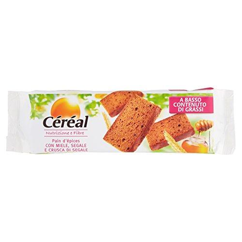 Céréal, Nutrizione e Fibre Pain D'epices con Miele, Segale e Crusca di Segale - 300 G