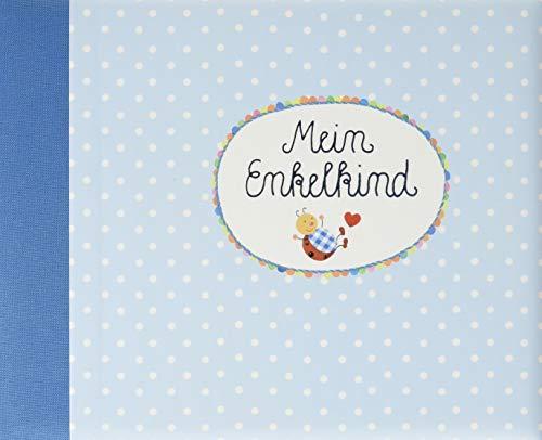Eintragalbum - BabyGlück - Mein Enkelkind (hellblau) (Alben & Geschenke fürs Baby)