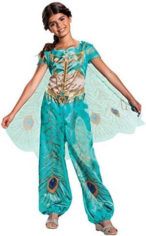 Disney Aladdin Live Action Girls Jasmine Classic Costume Size 4 6 product image