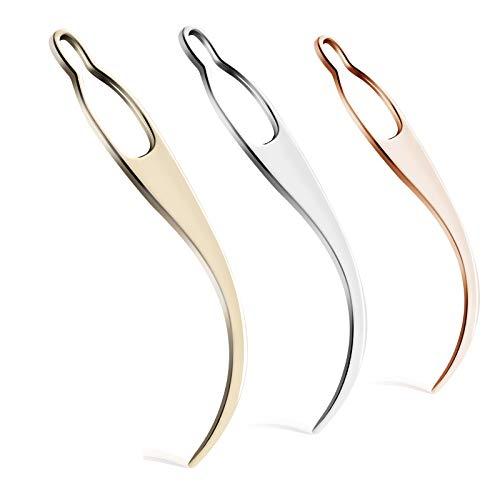 2 Interlocking Tools for Locs, Sisterlock and Dreadlocks Starter, Tightening Accessories for Small, Medium, or Large Dreads. Easy Locking Needle Hair loc Maintenance Tool Kit