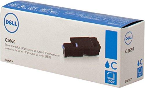 Dell C1660W Standard Capacity Cyan Toner - Kit ca. 1.000 Seiten