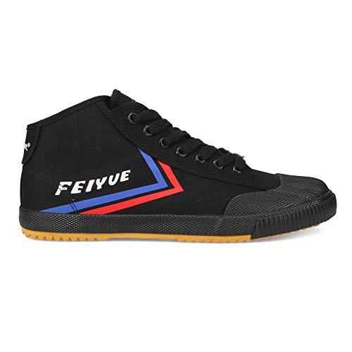 FEIYUE   FE MID 1920   Men   Martial Arts Shoes   Parkour Shoes Black