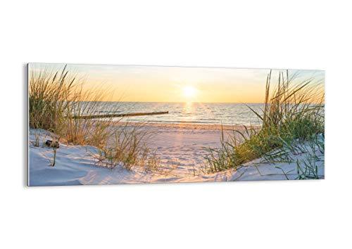 Bild auf Glas - Glasbilder - Einteilig - Breite: 120cm, Höhe: 50cm - Bildnummer 3989 - zum Aufhängen bereit - Bilder - Kunstdruck - GAB120x50-3989