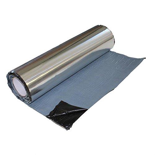 ALUBUTYL tapis isolant 2m² 50x400cm - Anti Bass boudonnement tapis / Car Hifi