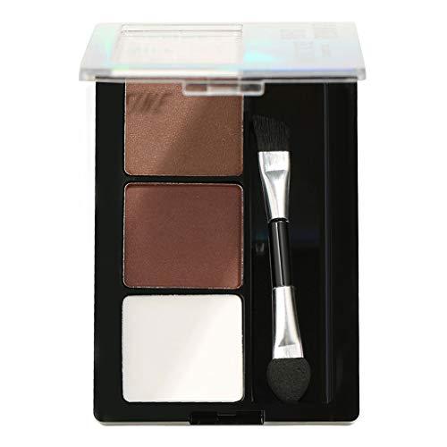 Coconut Polvo de la ceja 3 Colores Paleta Cejas Impermeable de Maquillaje...