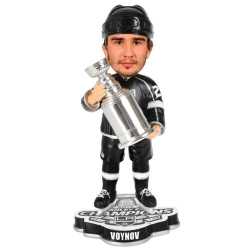 Slava Voynov (Los Angeles Kings) 2014 Forever Collectibles Stanley Cup Champions Trophy Bobblehead by Forever Collectibles