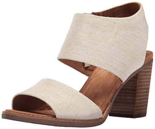 Toms Women's Majorca Cutout Sandal - Natural Yarn-dye, 8 B(M) US