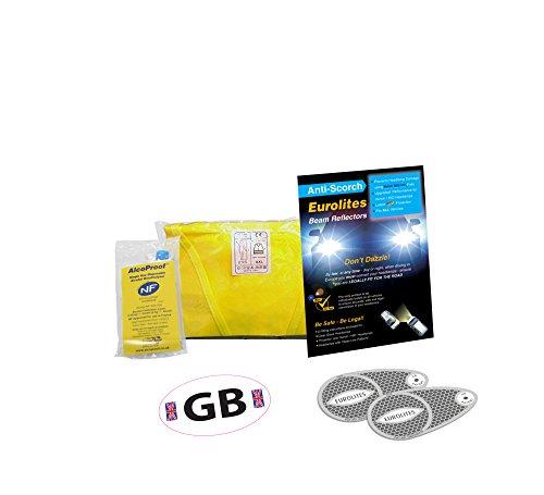 Déviateur de faisceau pour phare + Kit de voyage pour kit de conduite abroad- un