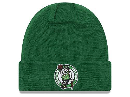 New Era Boston Celtics Green Cuff Breakaway Beanie Hat - NBA Cuffed Knit Toque Cap