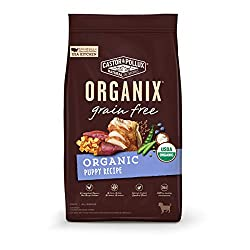 Organix grain free puppy food