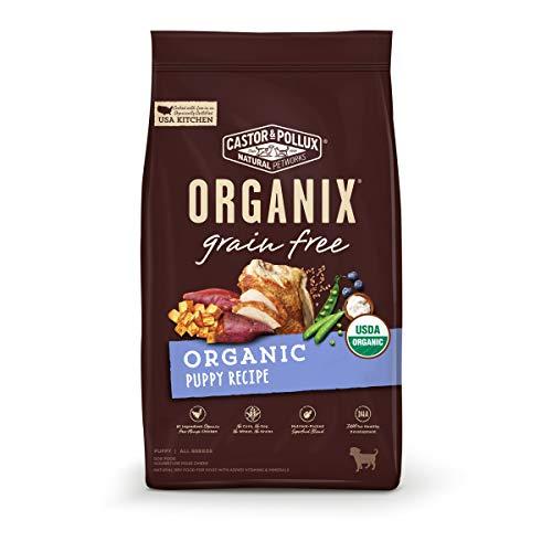 Castor & Pollux ORGANIX Grain Free Organic Puppy Recipe Grain Free Dry Dog Food - 10 lb. Bag