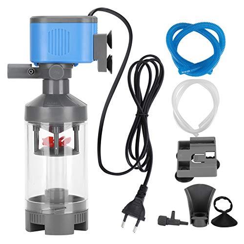 Pssopp Filtre Ultra-Silencieux pour Aquarium 5 en 1 Pompe de Filtre multifonctionnelle pour Aquarium...
